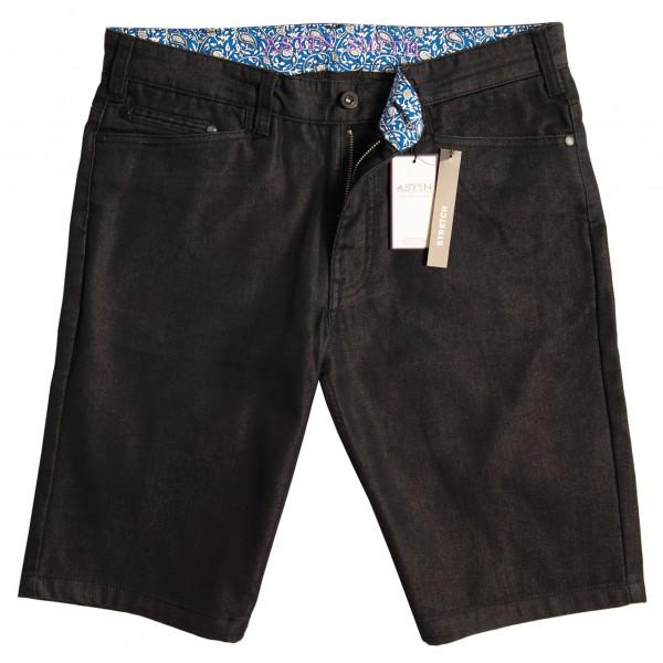 Cross Pocket Short Black